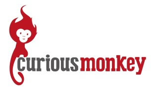 Curious-Monkey-Logo-Ideas-bold-red